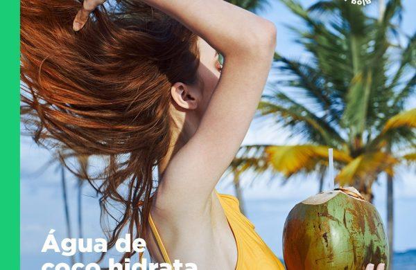 A água de coco hidrata os fios?