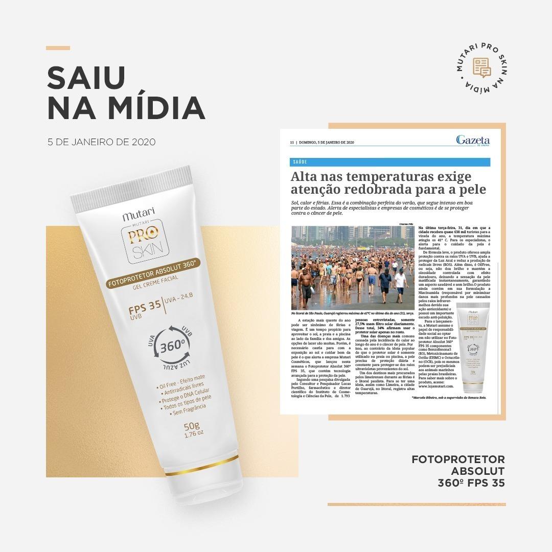 Mutari no Jornal Gazeta de Limeira – SP