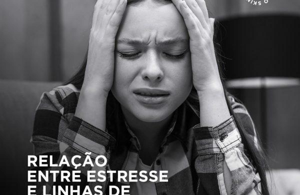Relação entre estresse e linhas de expressão