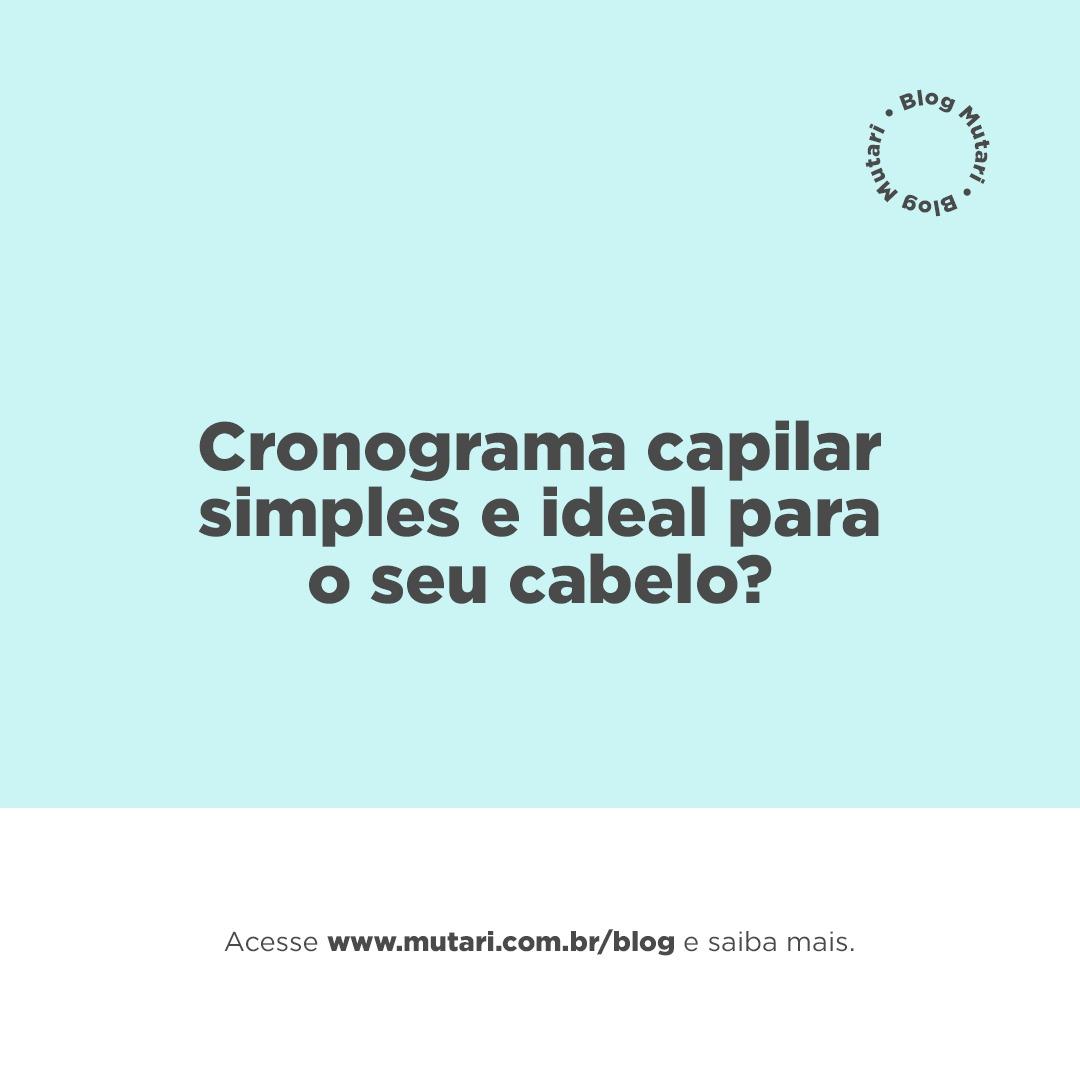 Cronograma capilar (O segredo para obter resultados extraordinários é revelado)