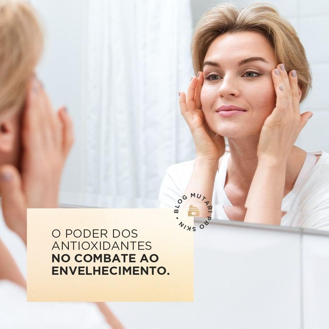 O poder dos antioxidantes no combate ao envelhecimento