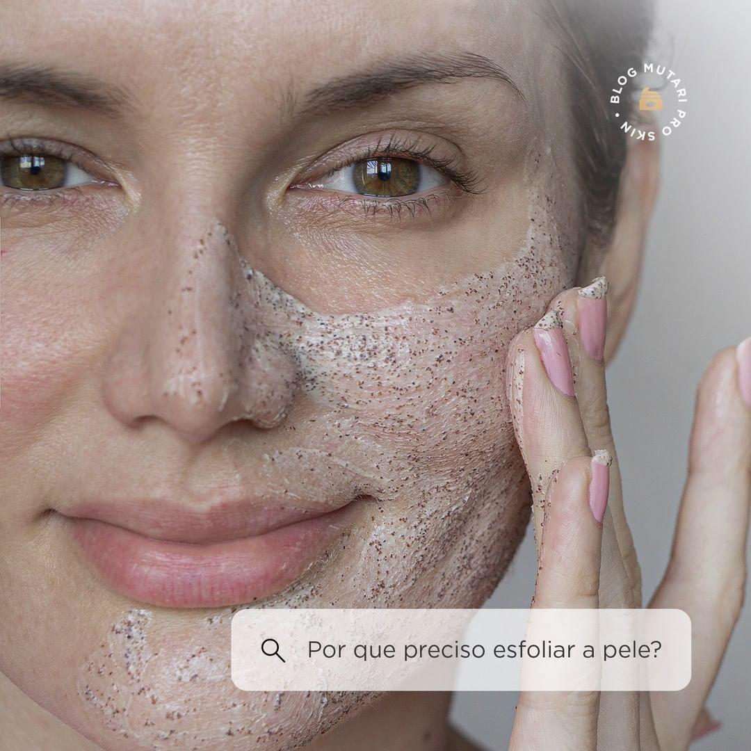 A importância da esfoliação da pele
